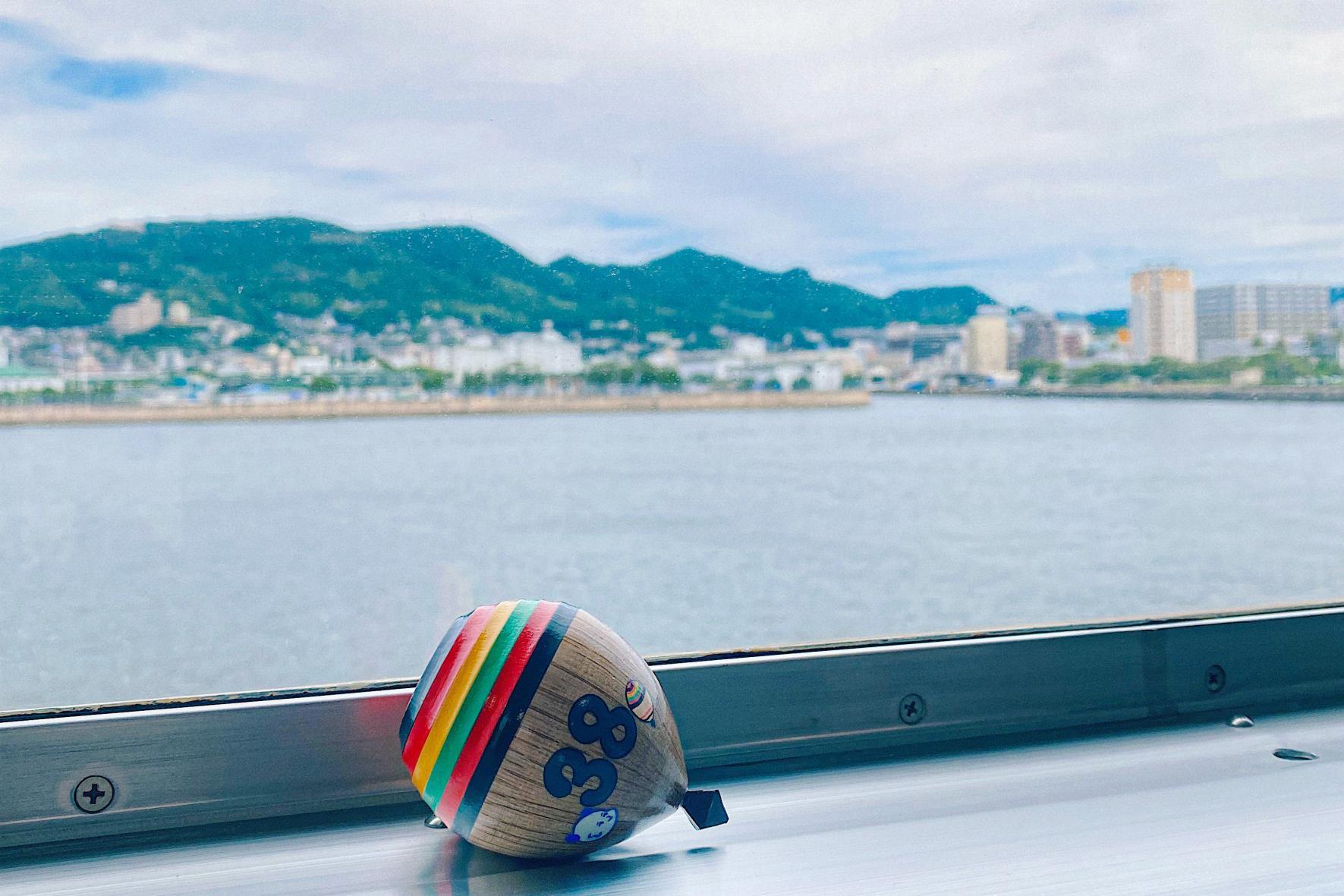 佐世保港「鯨瀬ターミナル」から、最短片道1時間半の船旅へ!-2
