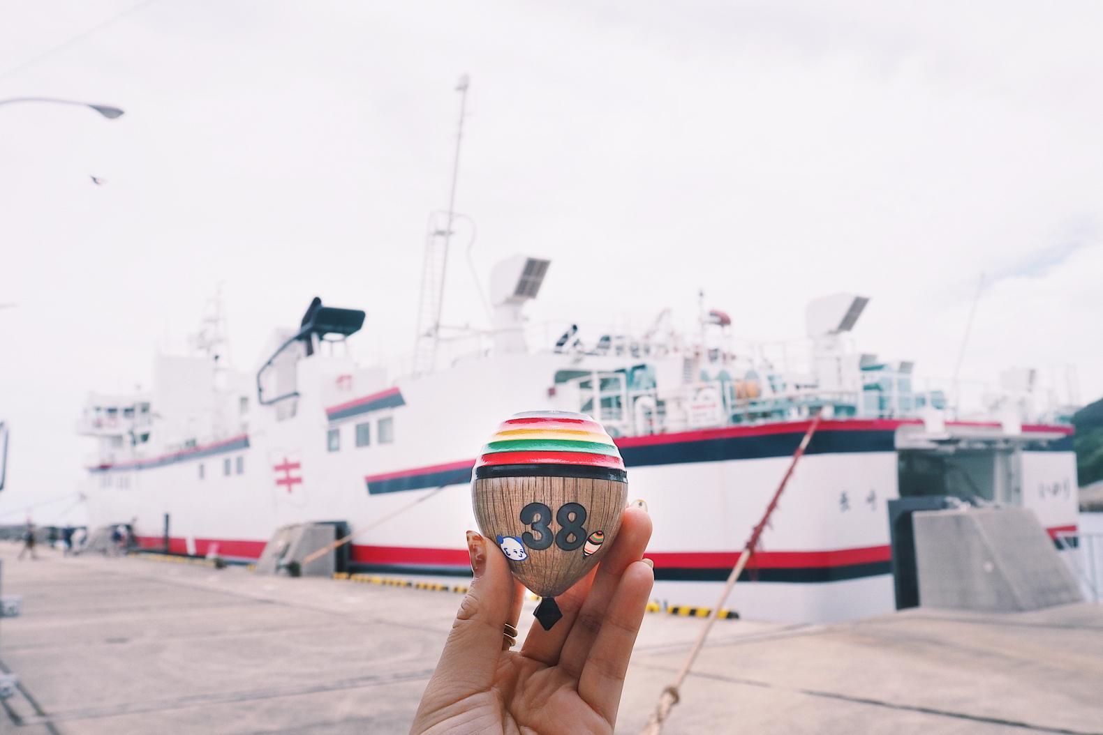 佐世保港「鯨瀬ターミナル」から、最短片道1時間半の船旅へ!-5