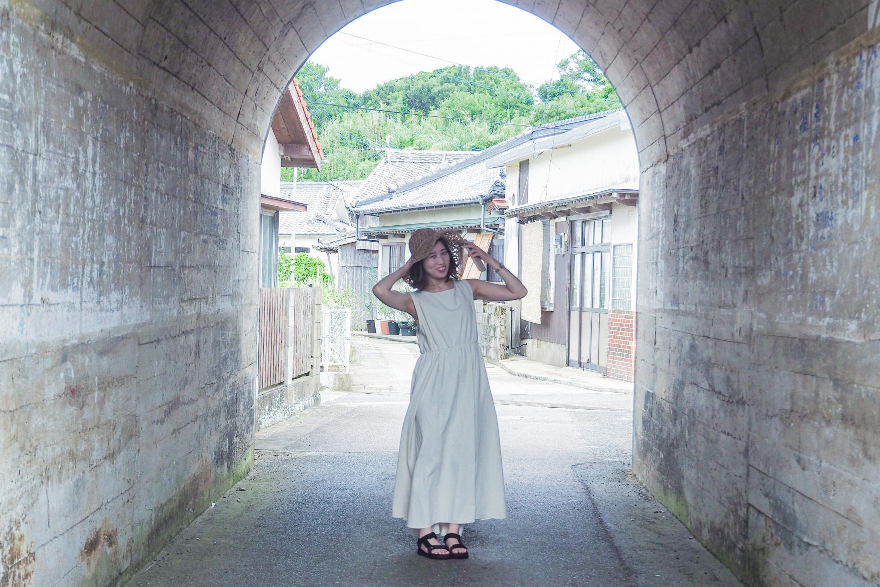 ノスタルジックでエモい!!神浦のトンネル☆-2