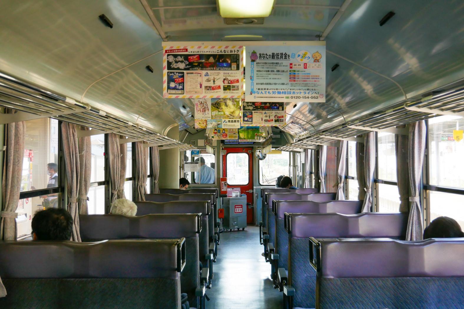 電車内でのんびり時間-1