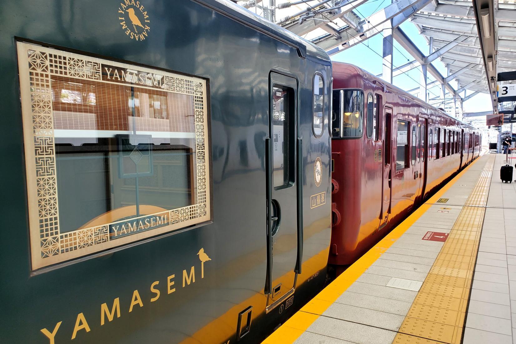 """3つの観光列車が""""つながって""""運行するなんて、貴重な機会です!-0"""