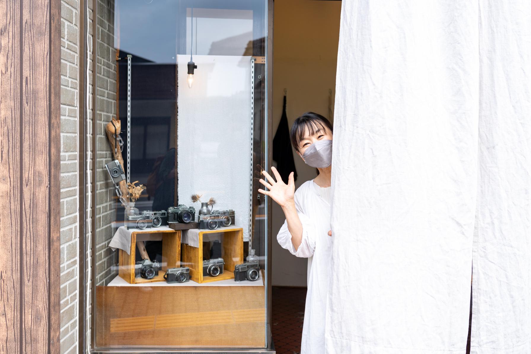 日本一のそのぎ茶も扱う喫茶室で感覚を研ぎ澄ませるワークショップ体験!-1