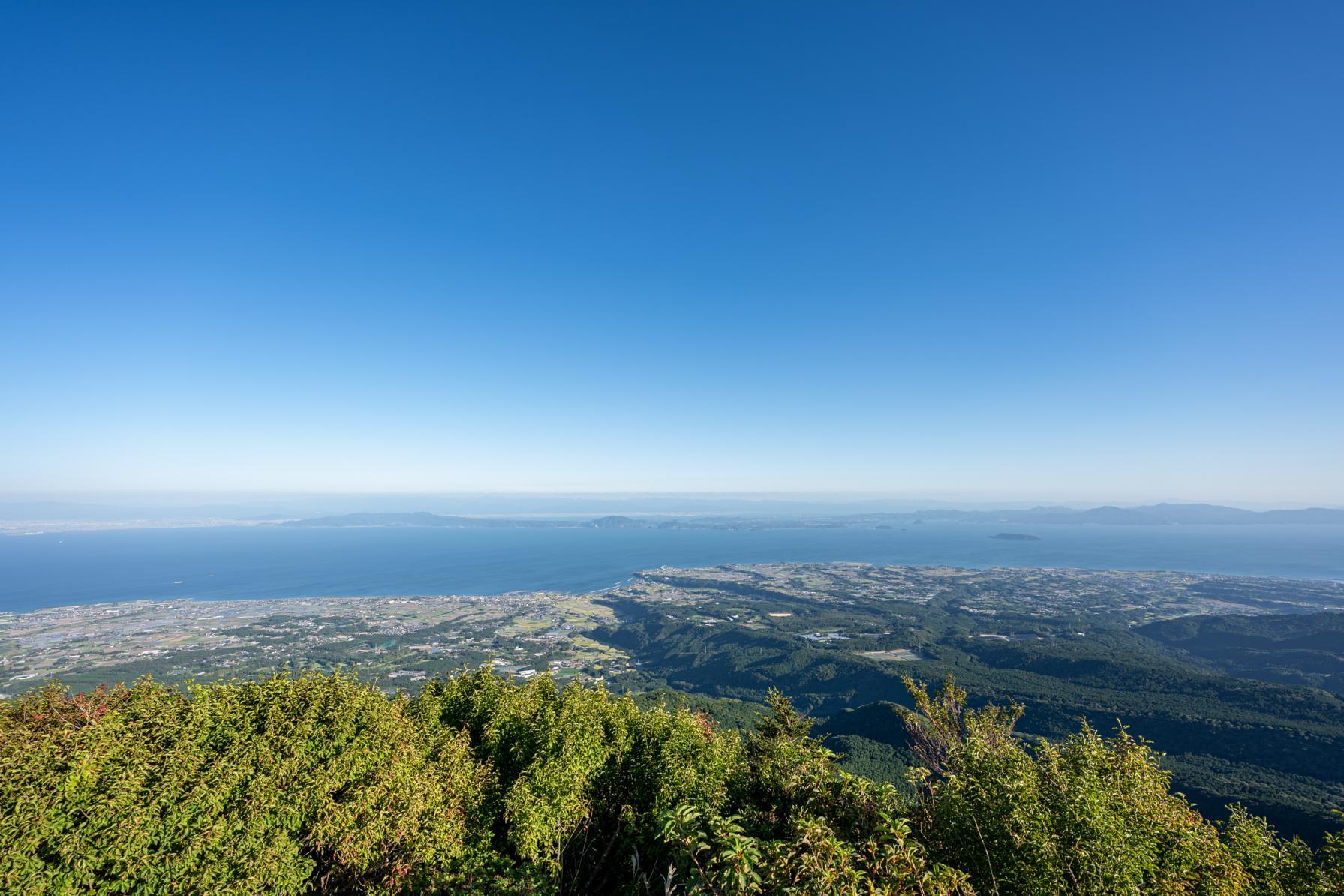 雲仙観光で絶対外せない!仁田峠からの眺めは最高-0