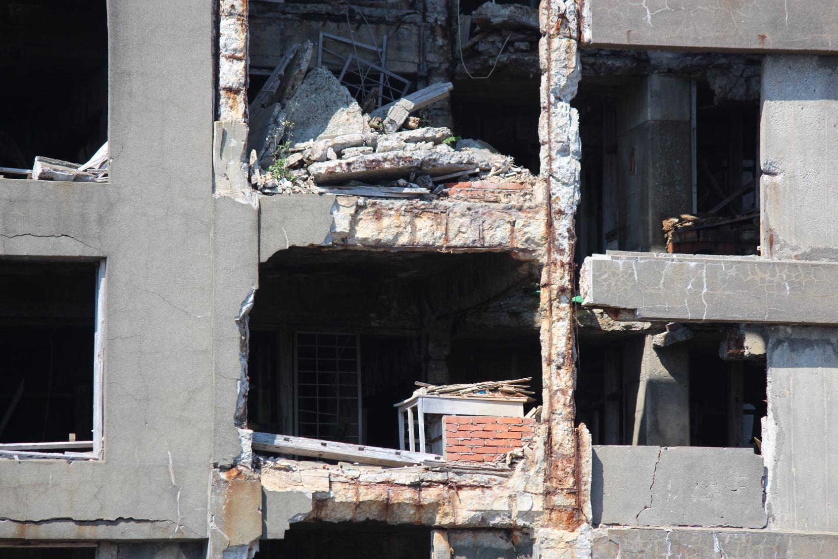 日本最古の鉄筋コンクリートアパート「30号棟」-1