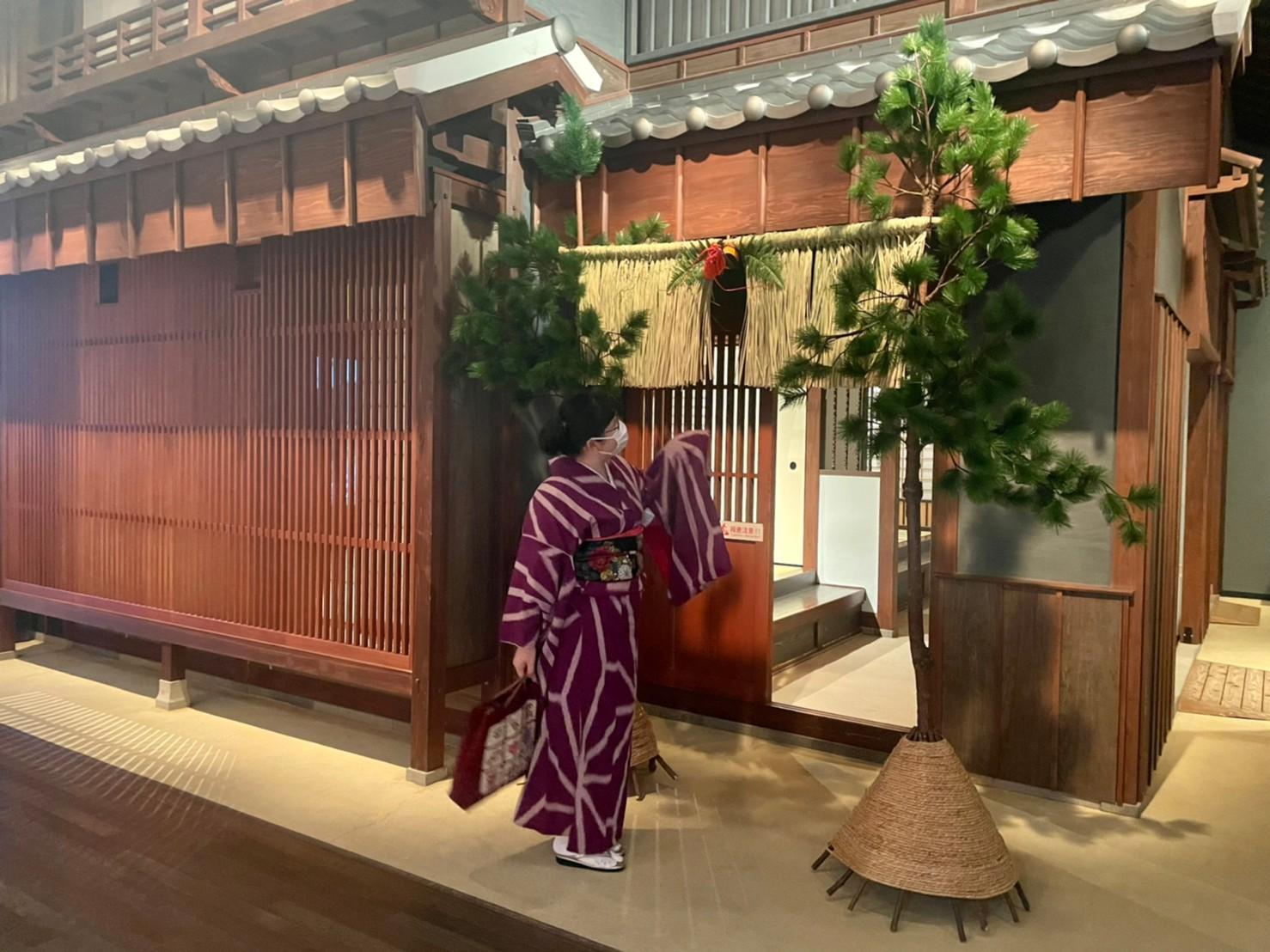 長崎の正月飾り いろいろ-0