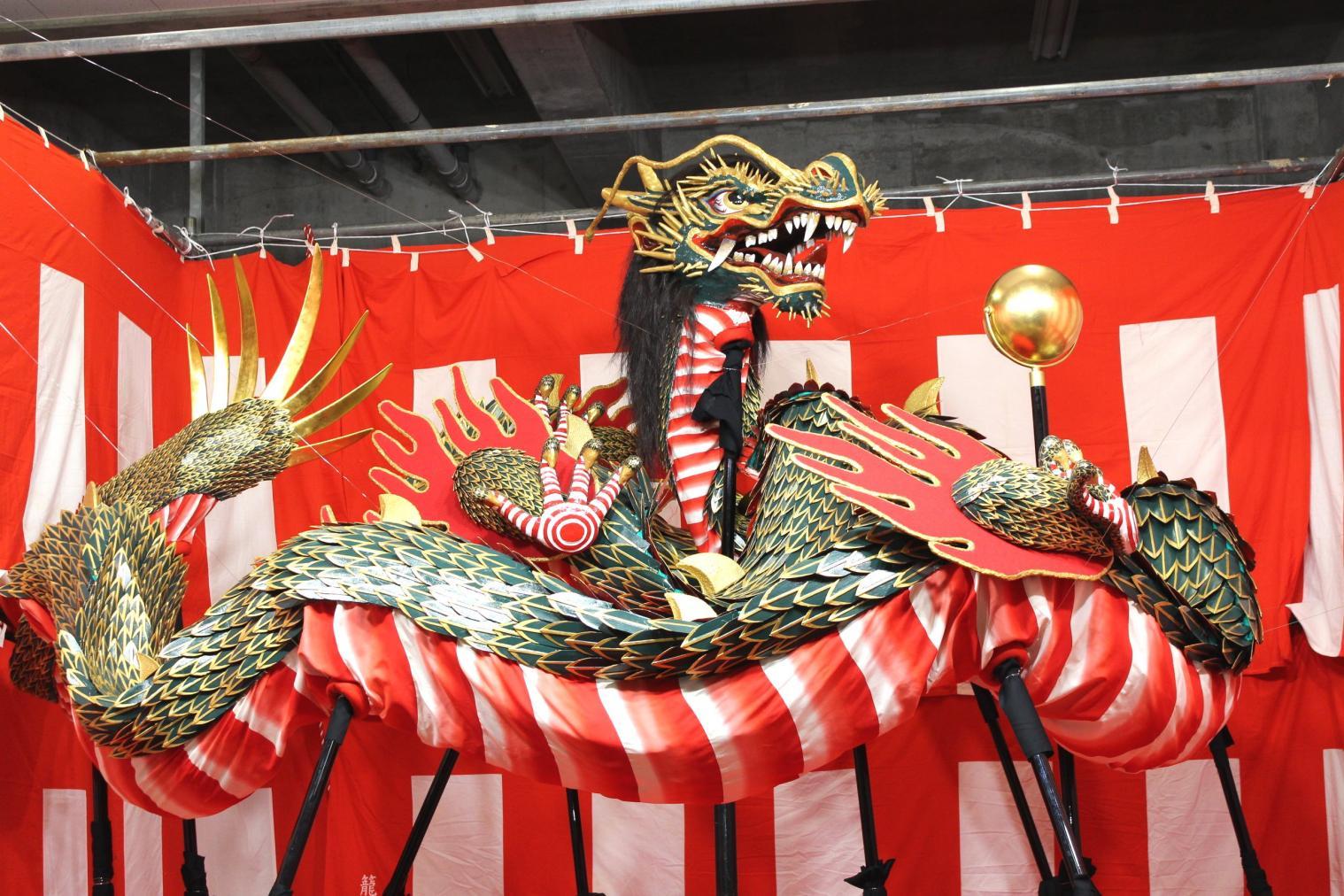 籠町 龍踊-0