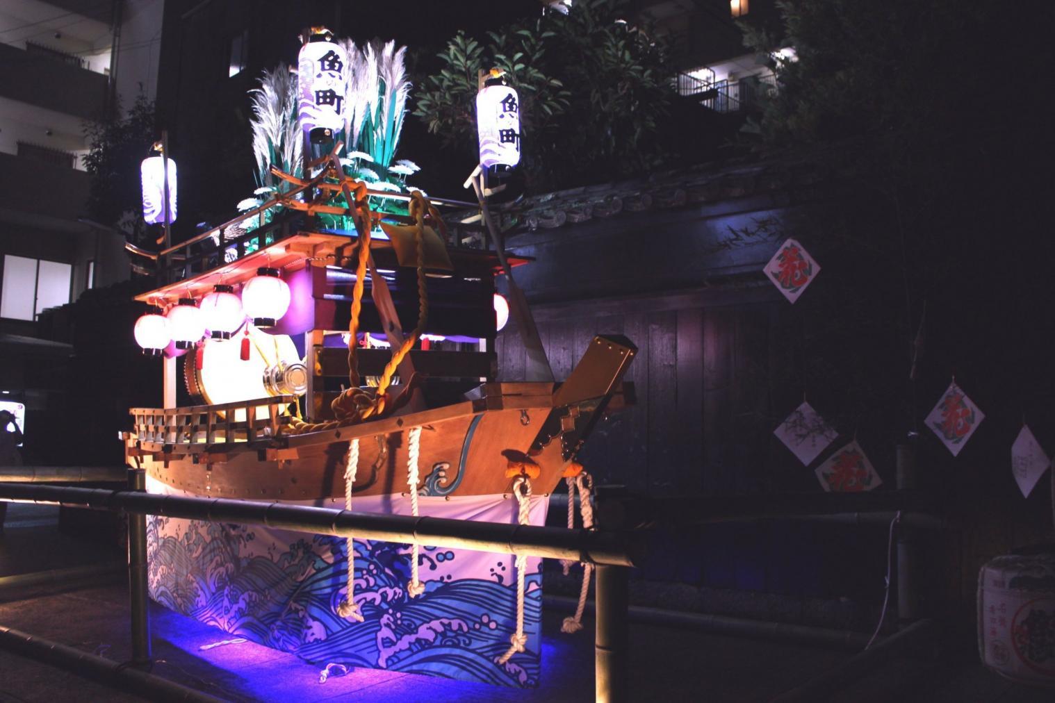 魚の町 川船-0