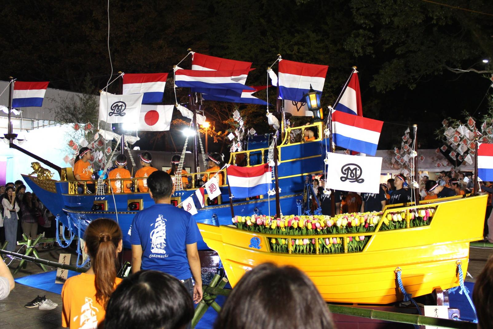 江戸町 オランダ船-0