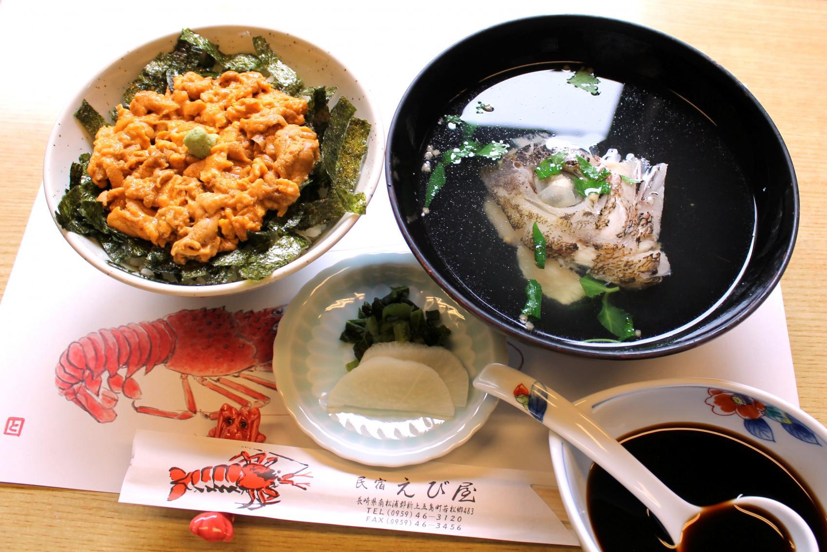うに丼と日本遺産めぐりの旅-1