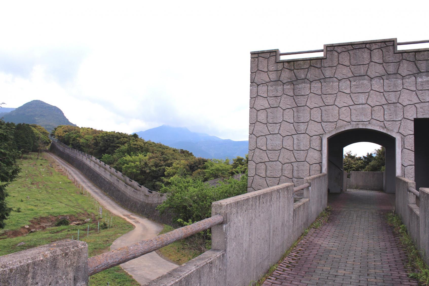 長崎の珍スポット「万里の長城」-1