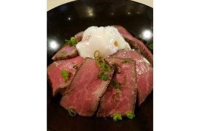 長崎和牛のローストビーフ丼