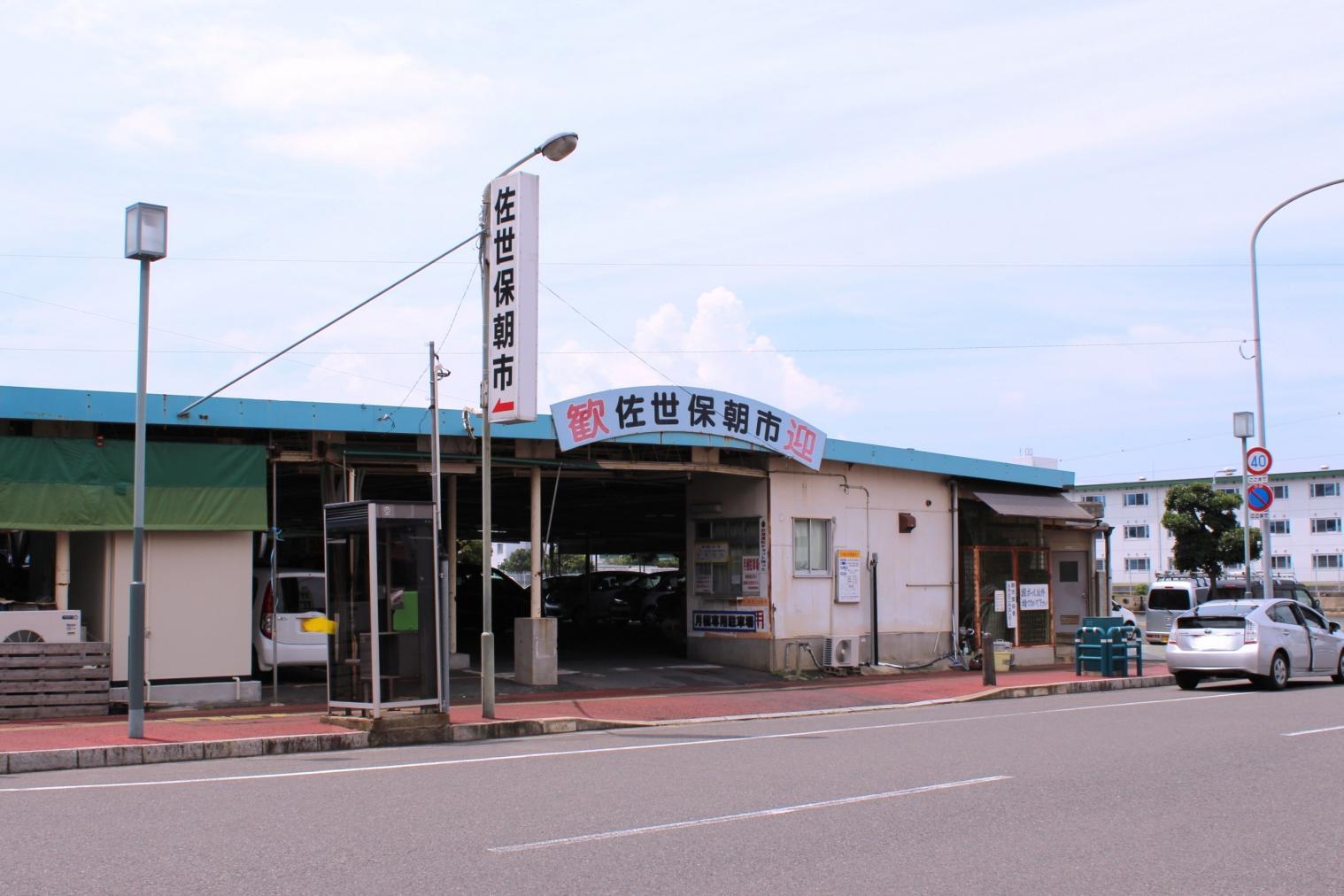 佐世保朝市-1