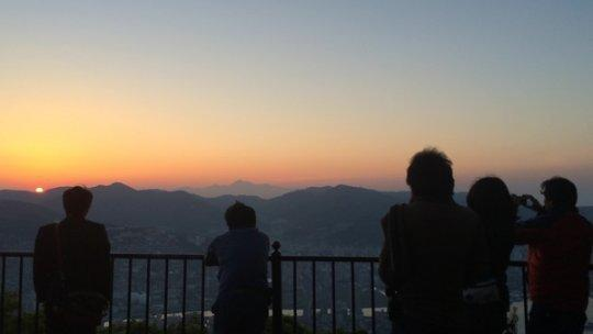 【2日目】7:00 稲佐山-1