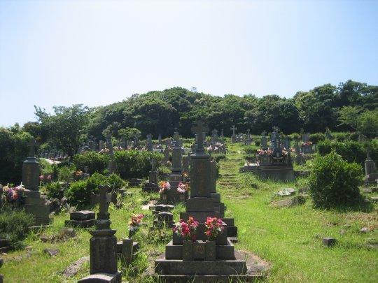 11:30頃 カトリック共同墓地-1