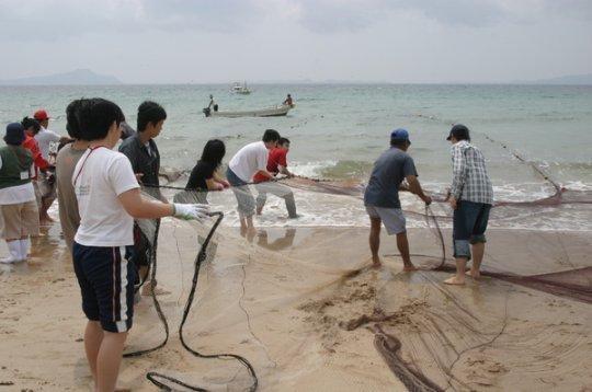 【1日目】漁業体験-1