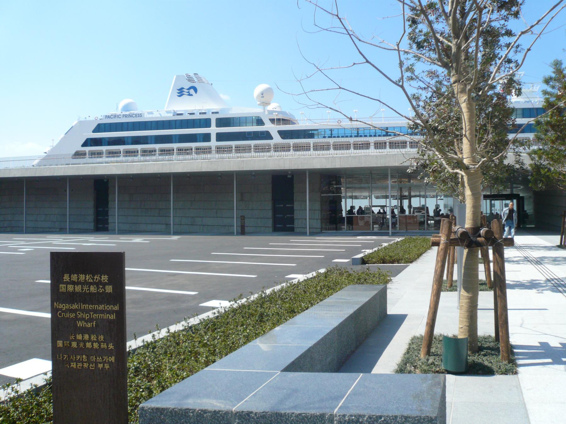 長崎港 松が枝国際線ターミナル-1