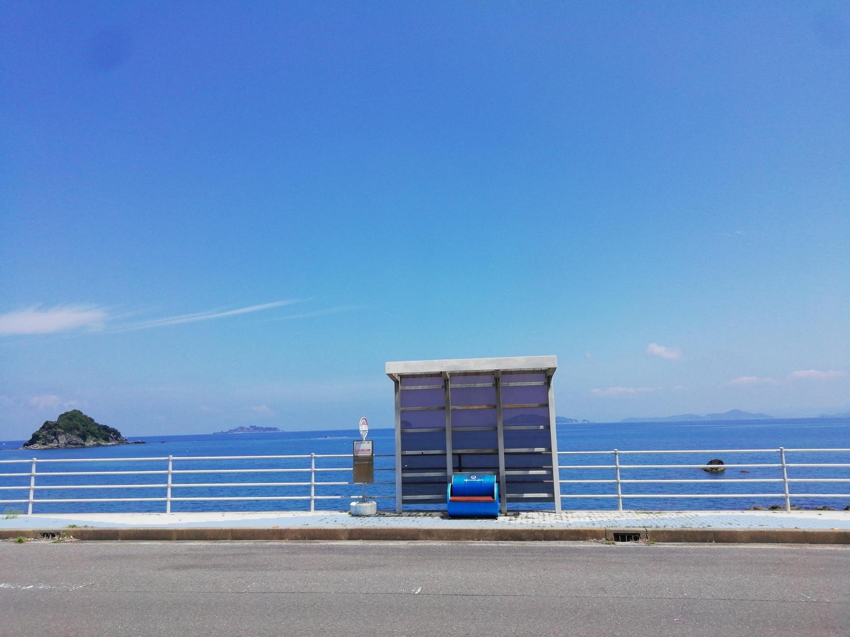 南越バス停-1
