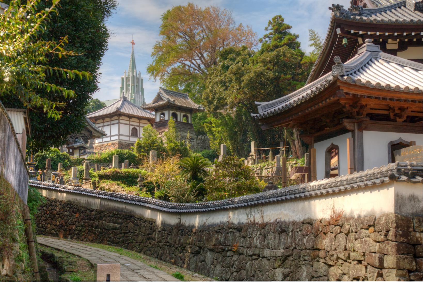 【第2天】松浦 寺院与教会重叠的风景-1