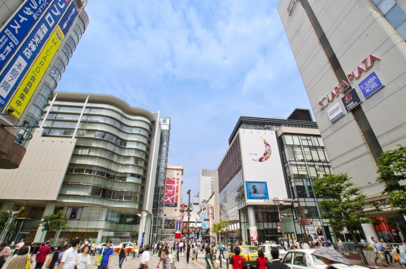 【第2天】福冈市内购物-1