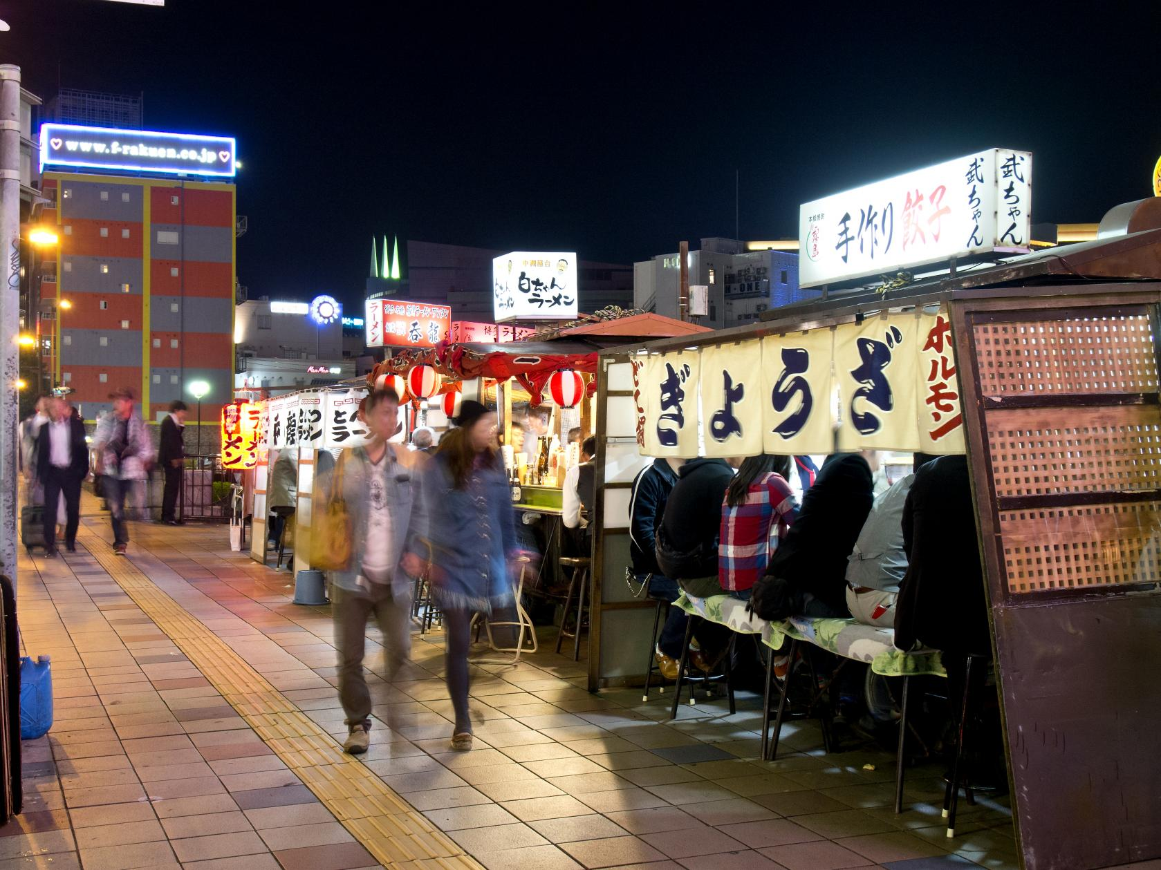 【Day 2】Yatai (Food Stalls)-1