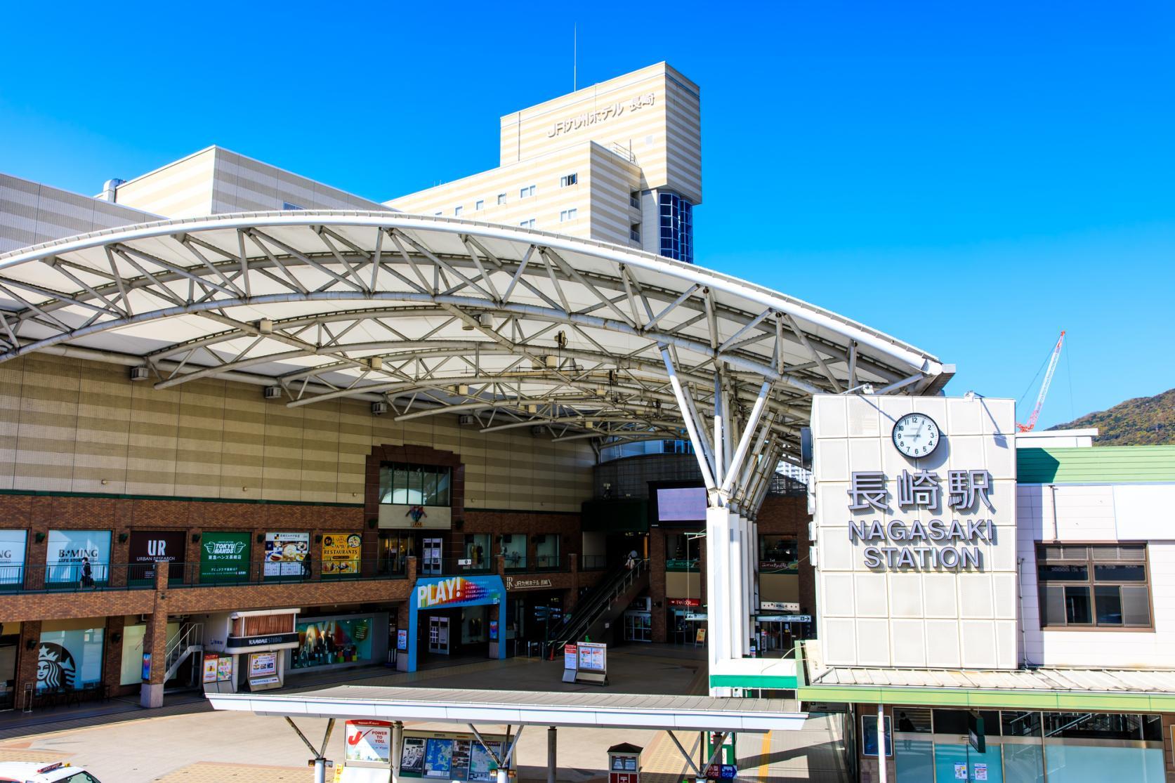 【Day 1】Nagasaki Station-1