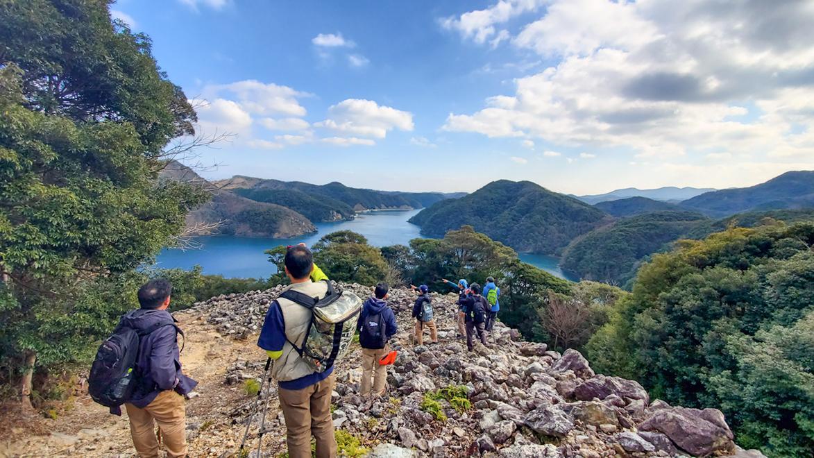 金田城跡を巡るツアー-1