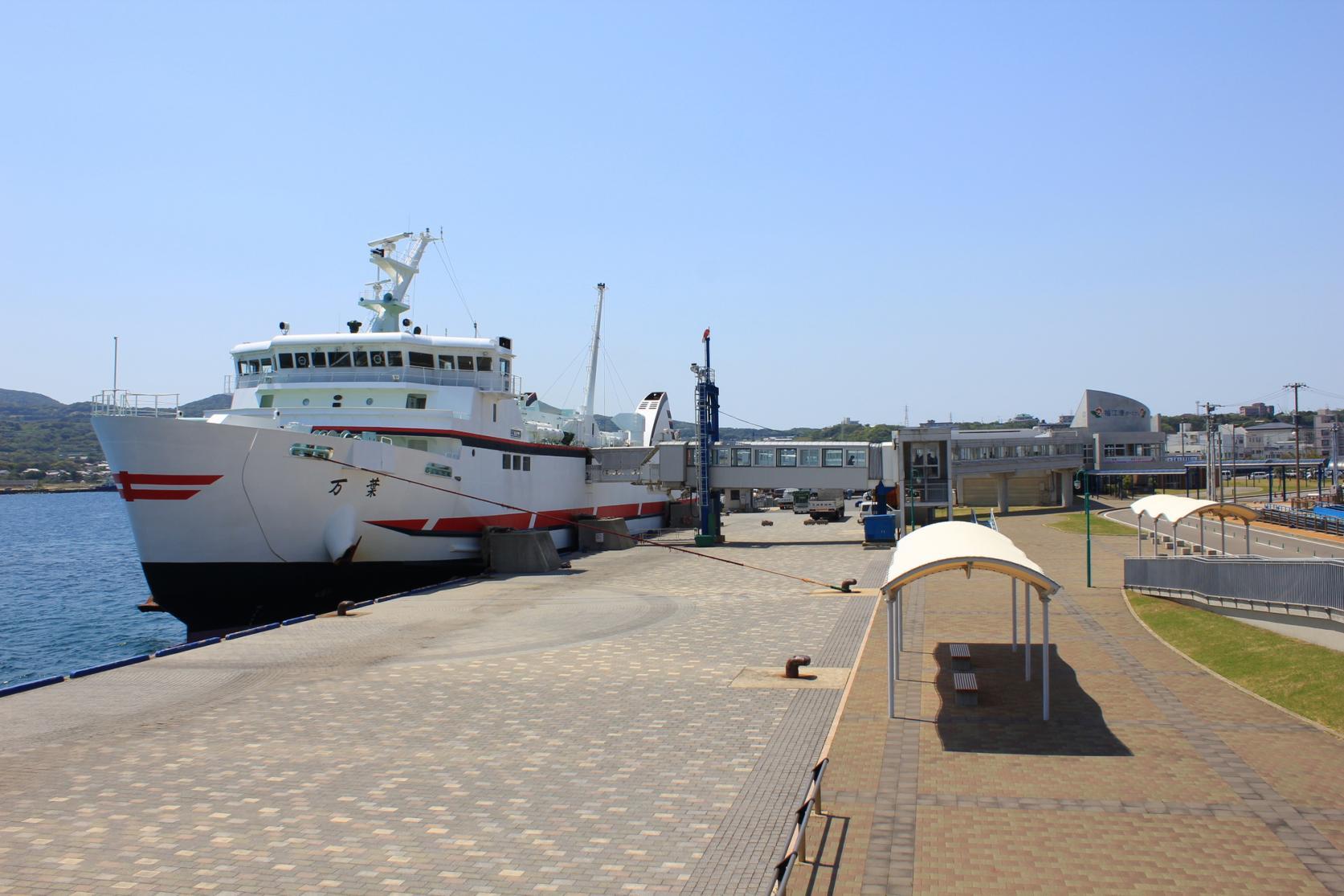 【2日目】福江港(福江島)から長崎港へ-1