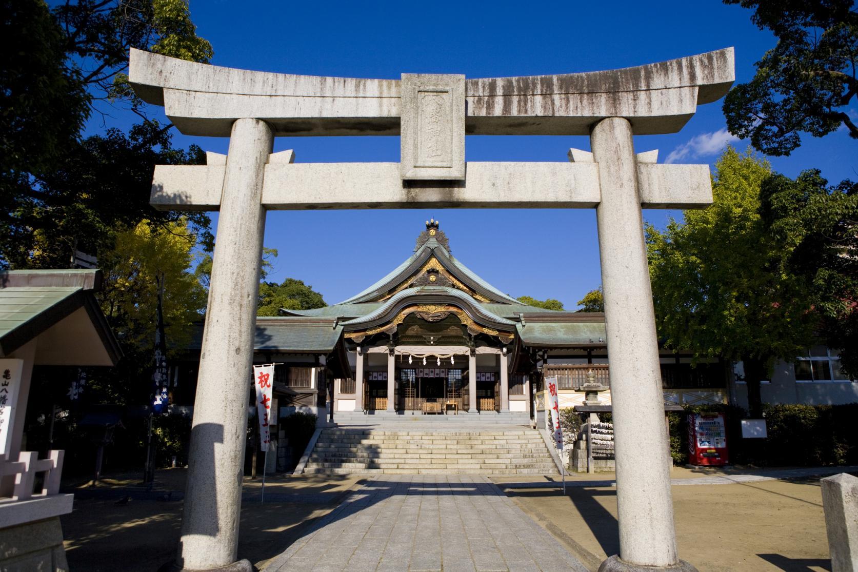 亀山八幡神社-1
