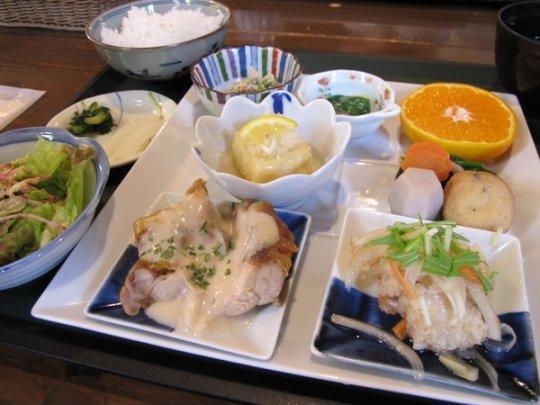 【1日目】11:50 陶農レストラン 清旬の郷-1