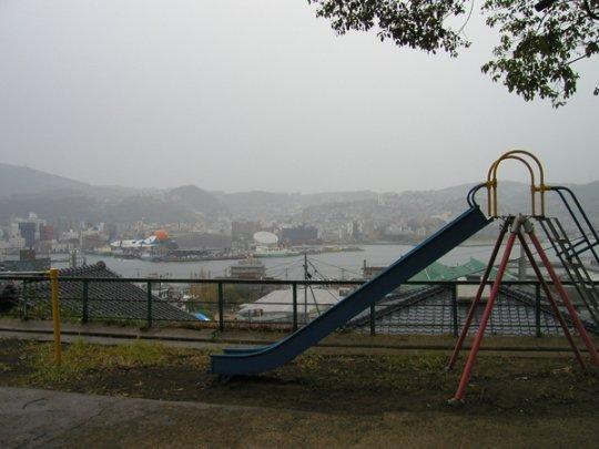 【2日目】烏岩神社横の公園-1