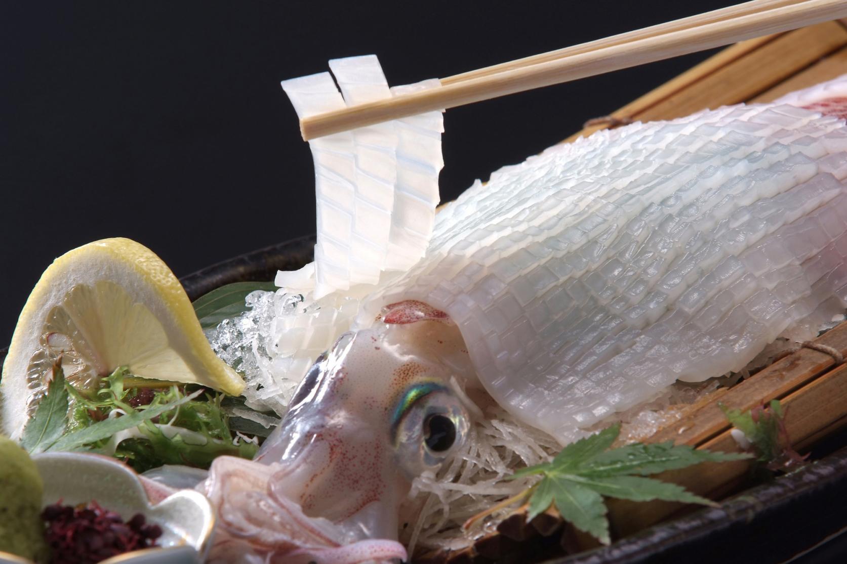 獲れたて・新鮮なイカは無色透明!噛むほど溢れる甘さに驚くなかれ。-2