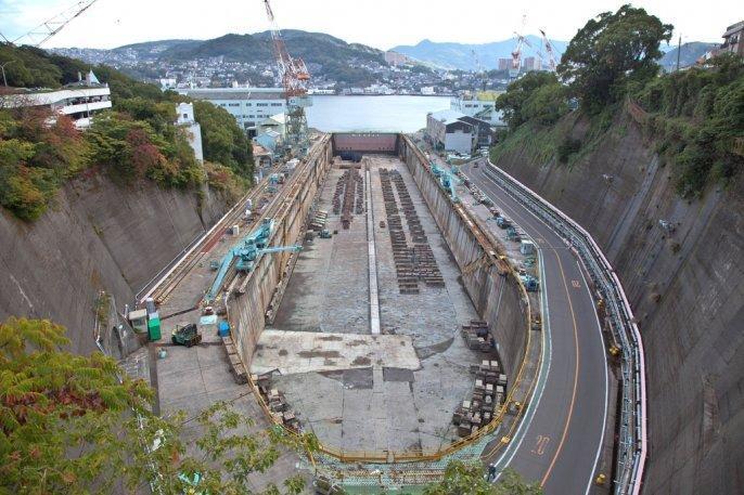 第三船渠(長崎造船所)-0