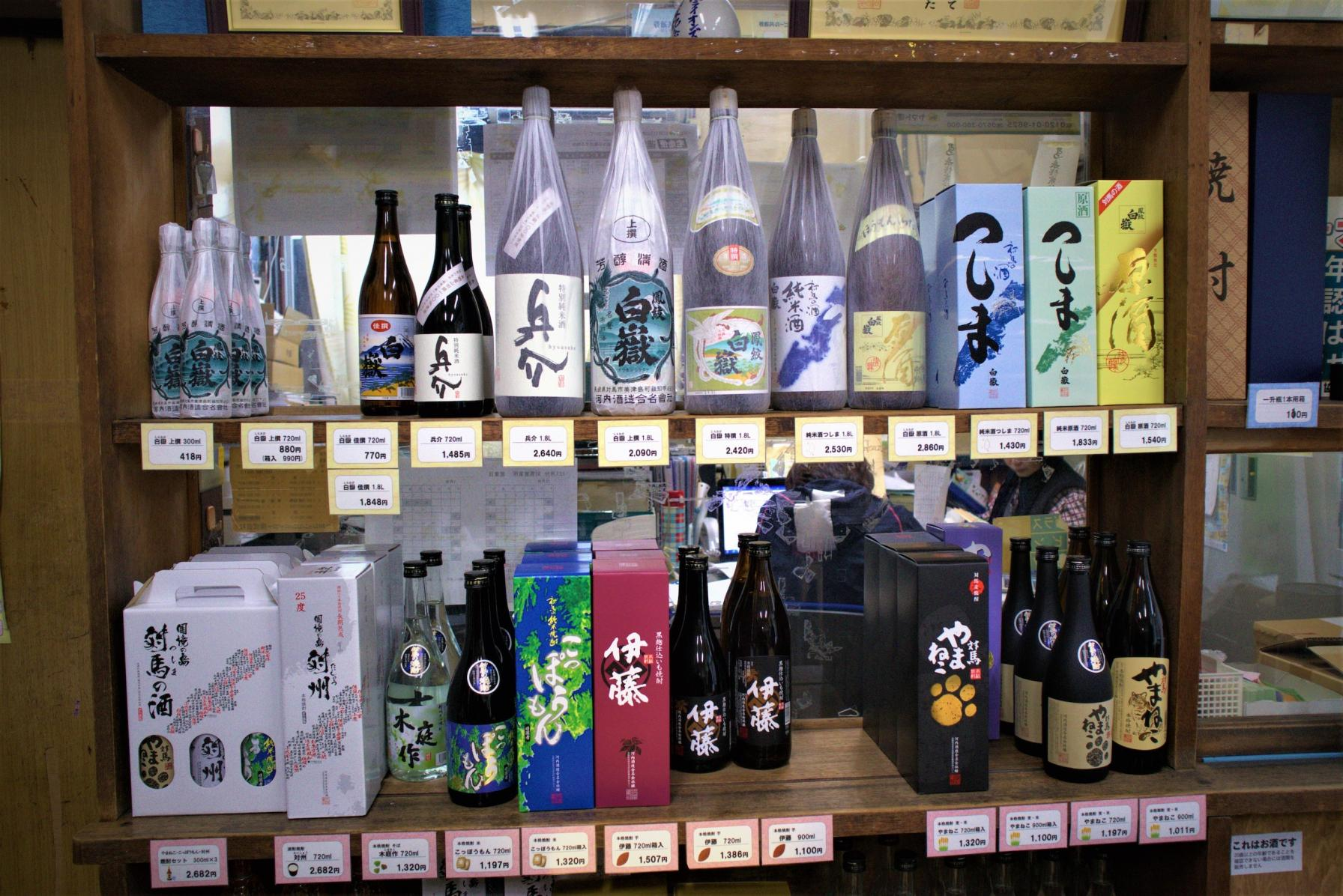 対馬唯一の酒造「河内酒造」。低温でじっくり発酵させた日本酒と焼酎を-6