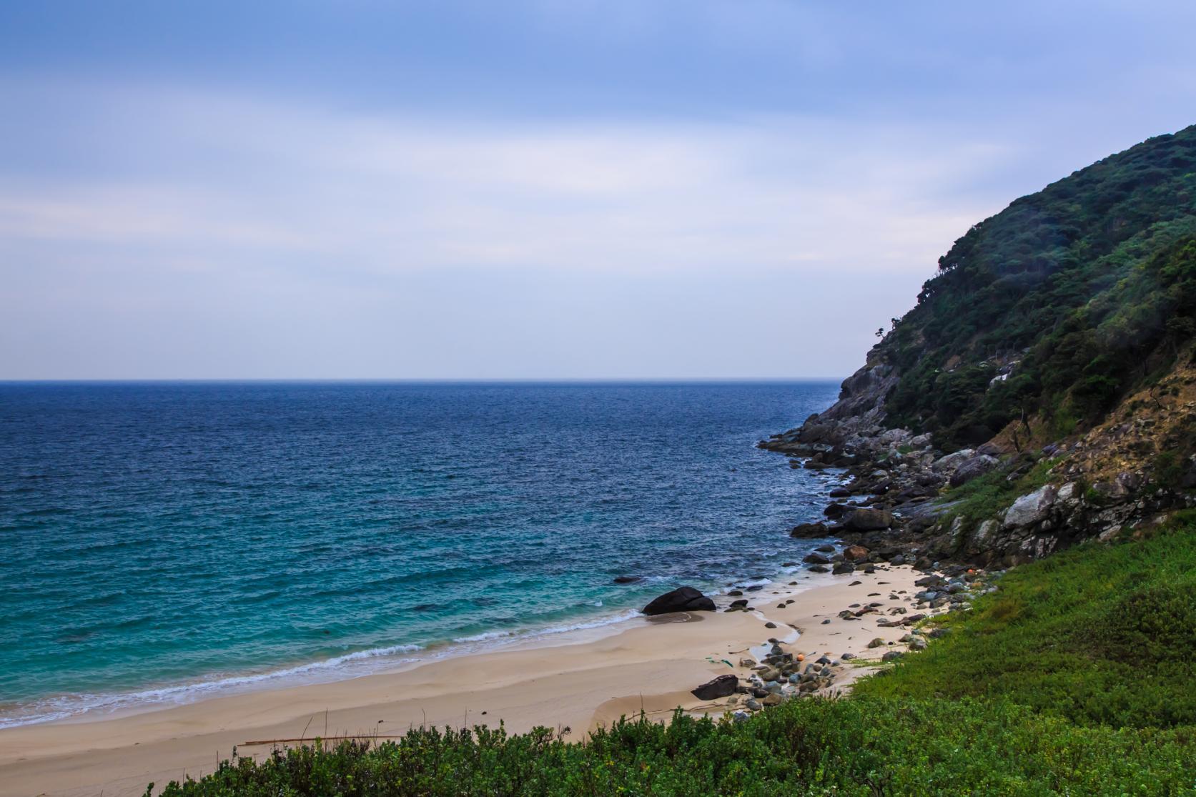 手つかずの自然が残る世界文化遺産の島 野崎島へ-2