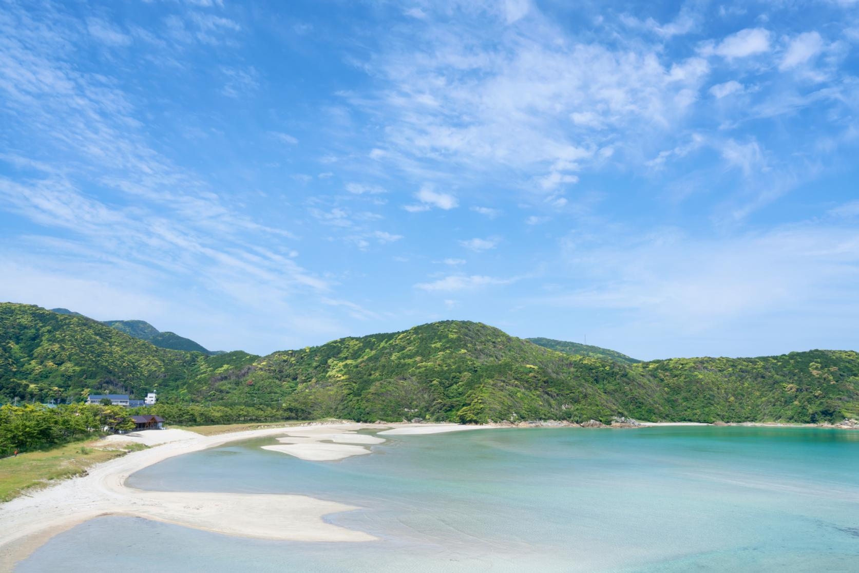 幻想的な景色に思わずうっとり。 上五島の絶景アイランドビュー!-0