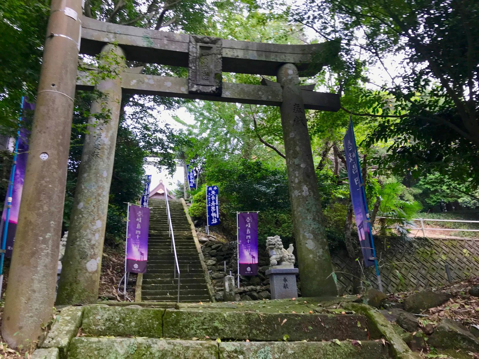 Amanotanagao Shrine: The Shrine with the Highest Status on Iki Shrine-2