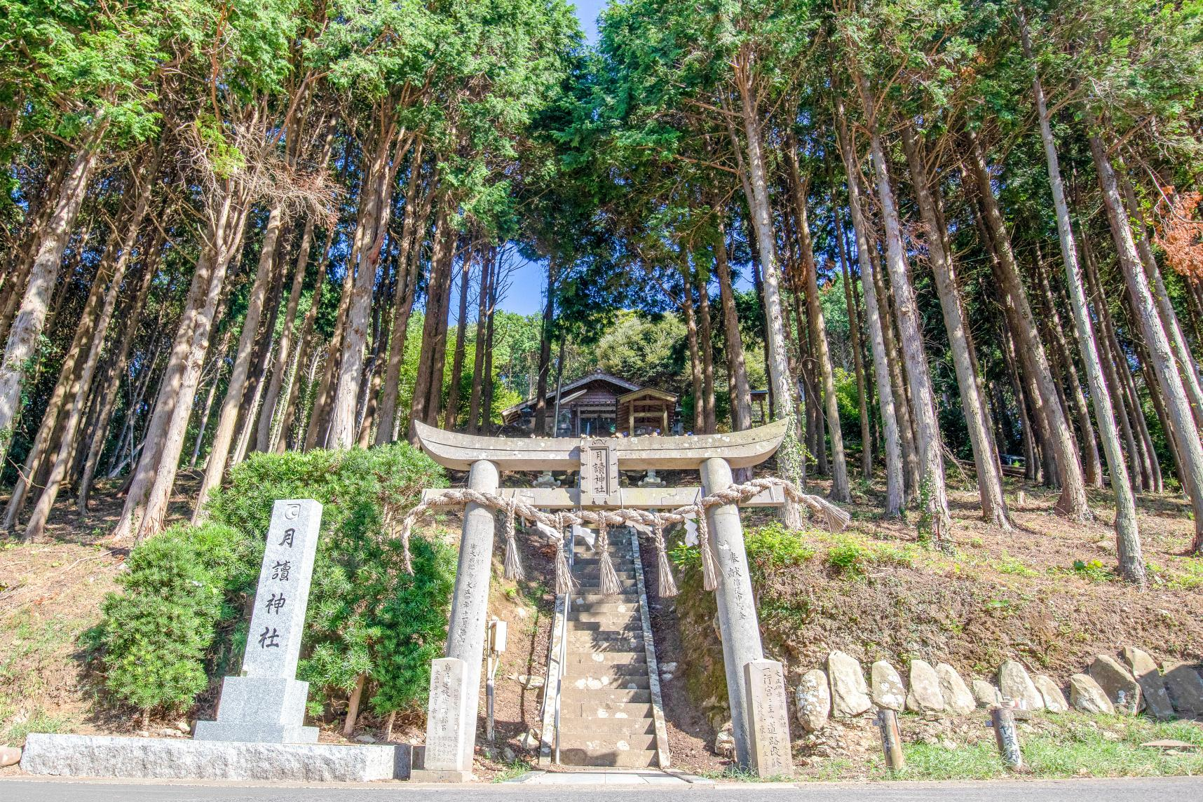 Tsukiyomi Shrine: Where You Can Feel the Power of the God of the Moon-0