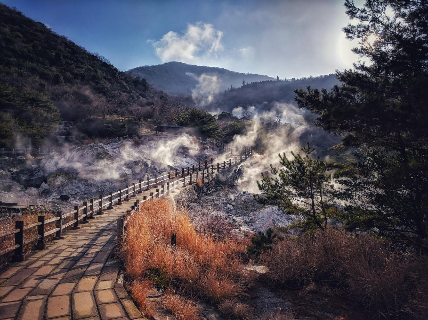 "To Unzen: A Glimpse of ""Hell"" in a Hot Spring Village-0"