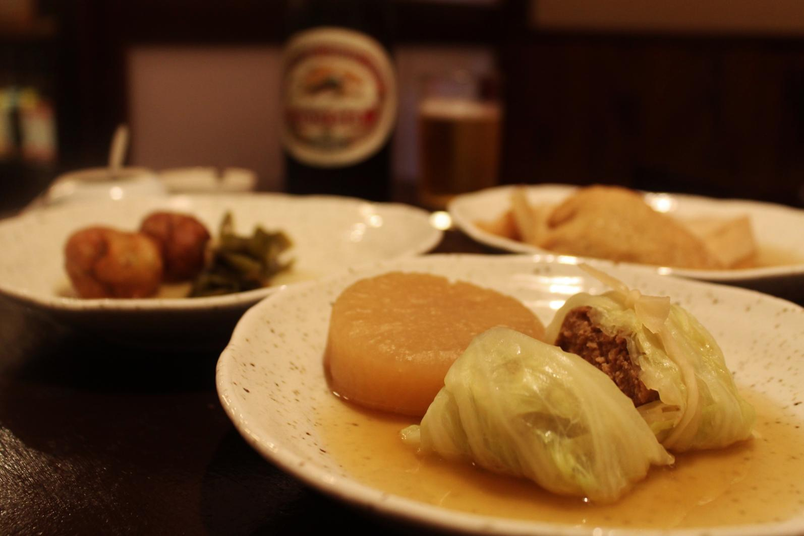 "Homemade Japanese ""Oden"" at a Long-established Restaurant-1"