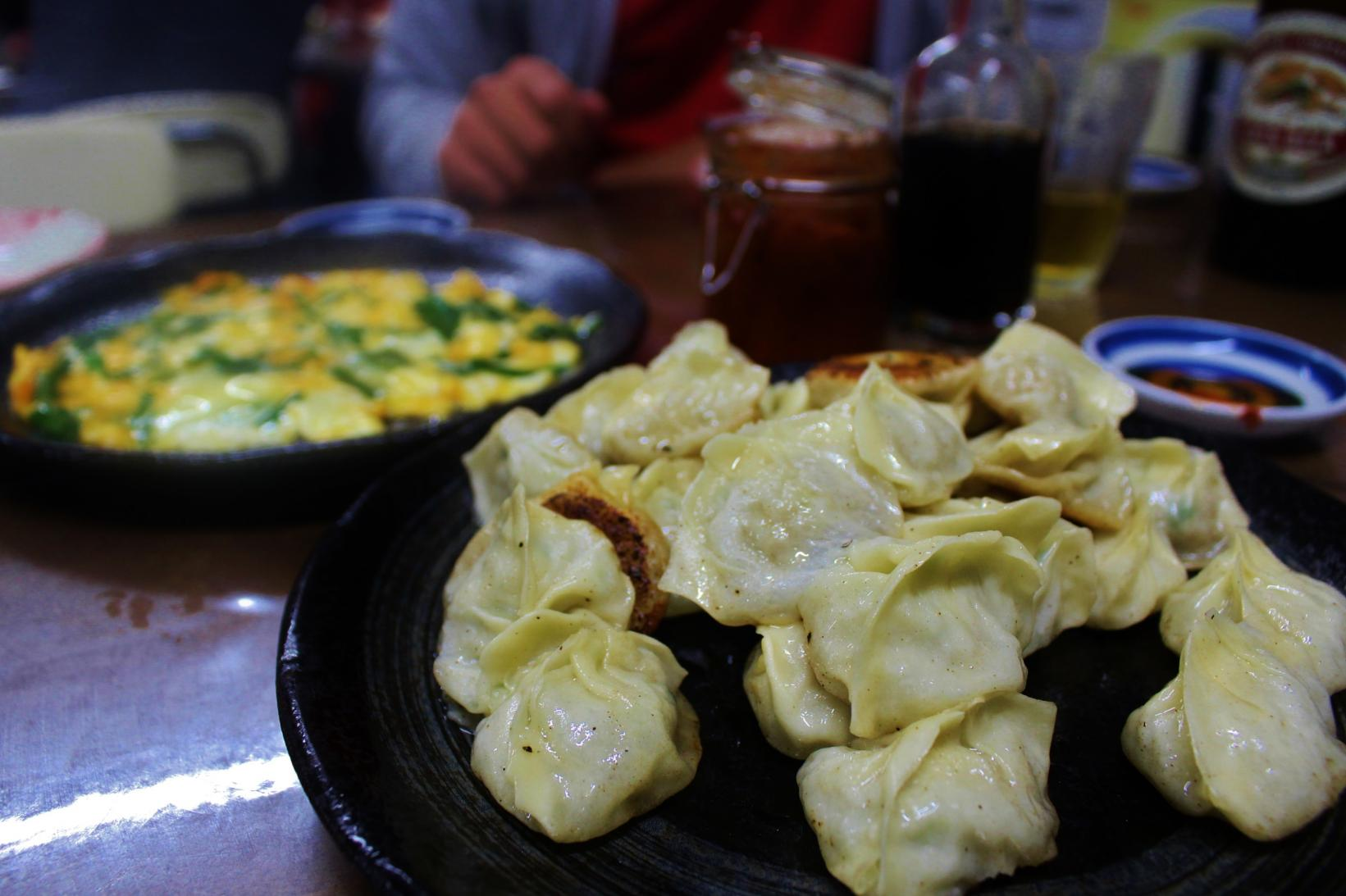 Bite-size Gyoza Dumplings -- Soul Food for Nagasaki Citizens-0