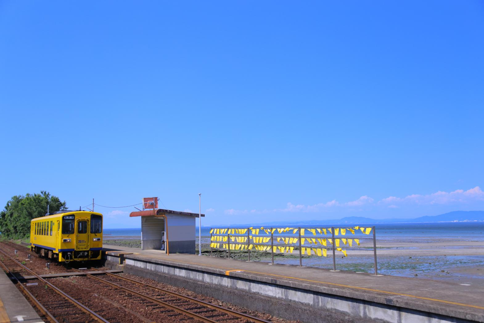 Shimabara Railway: A Train Ride with Spectacular Views-4