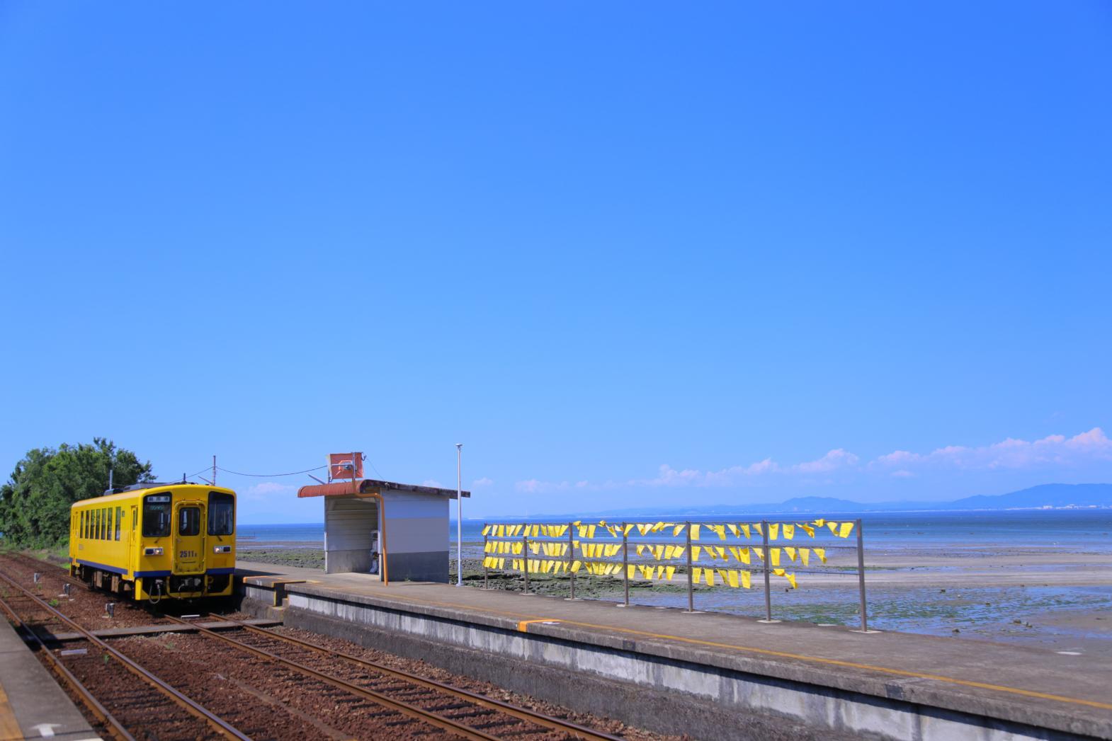 島原鐵道:往來山海之間的黃色列車-4