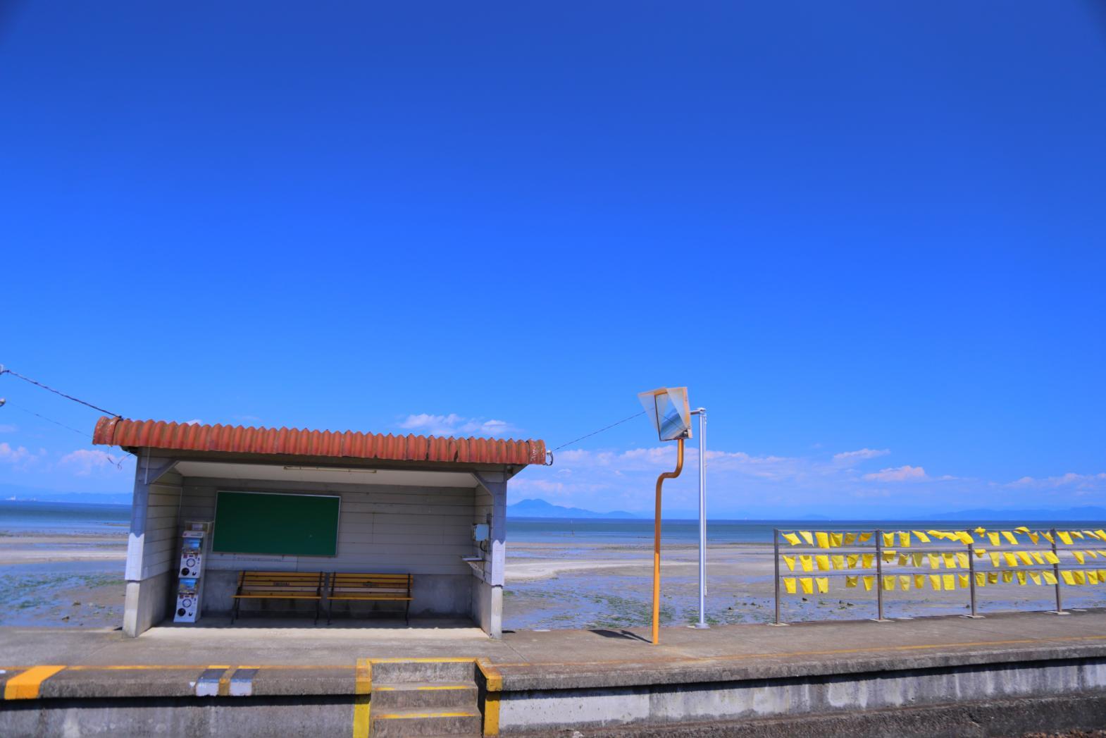 島原鐵道:往來山海之間的黃色列車-5