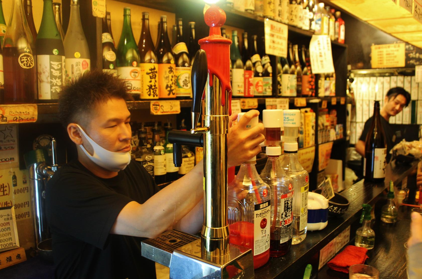Cheers! A Standing Izakaya Bar where you can Connect with People-1