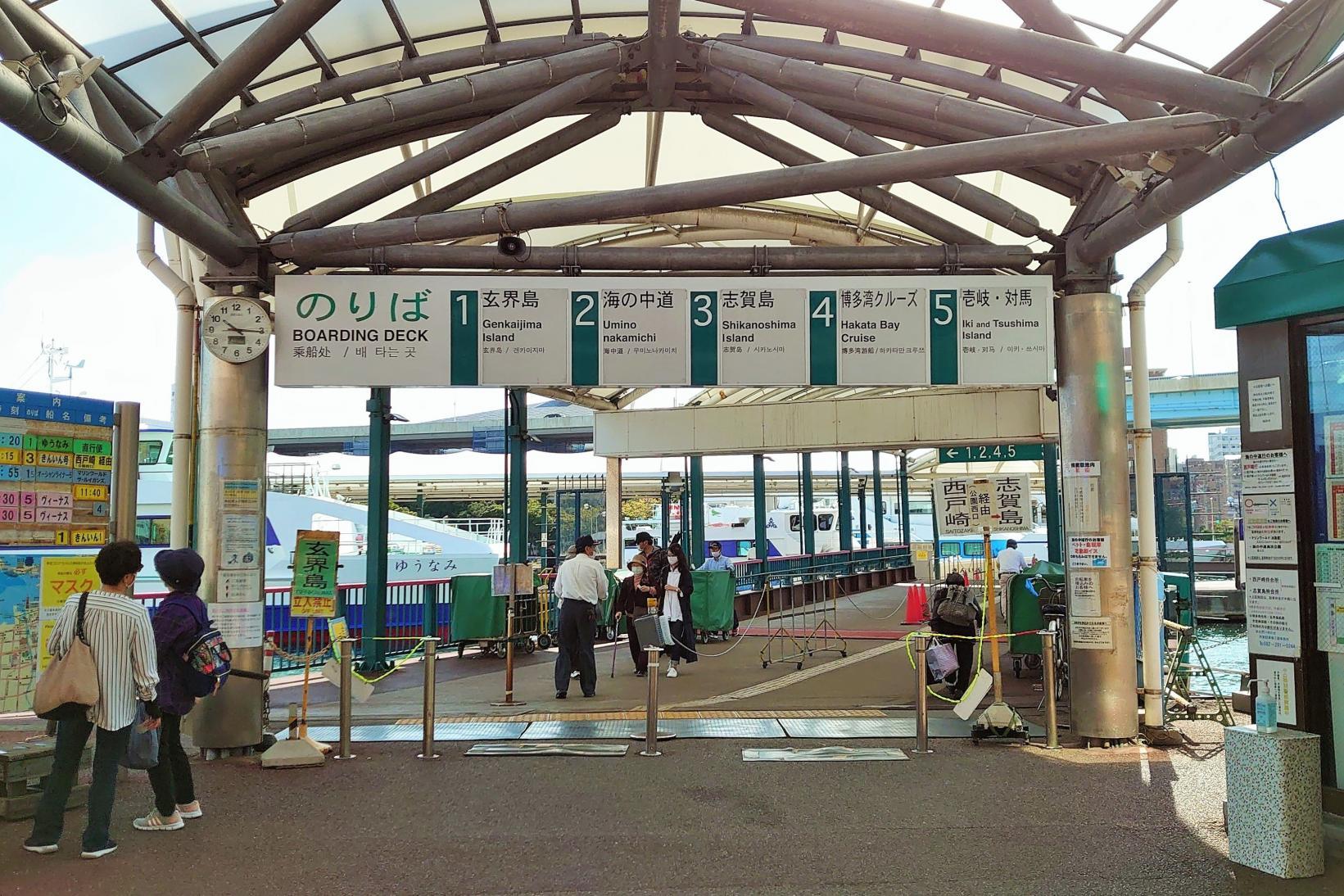 From Hakata Port (Fukuoka City)-6