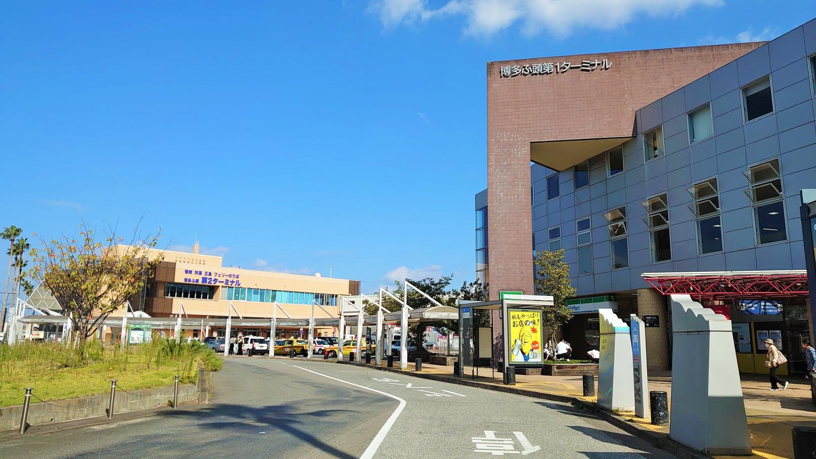 From Hakata Port (Fukuoka City)-1