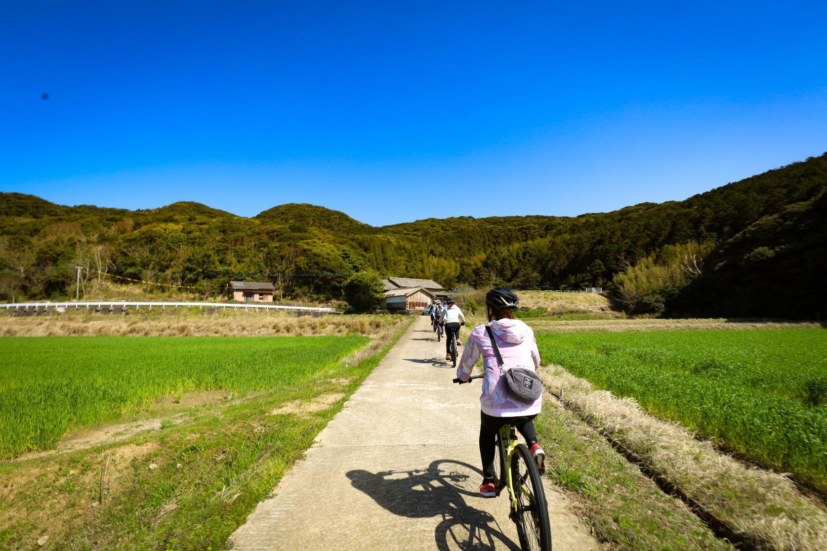 五岛列岛:轻松享受专属的自行车之旅-0