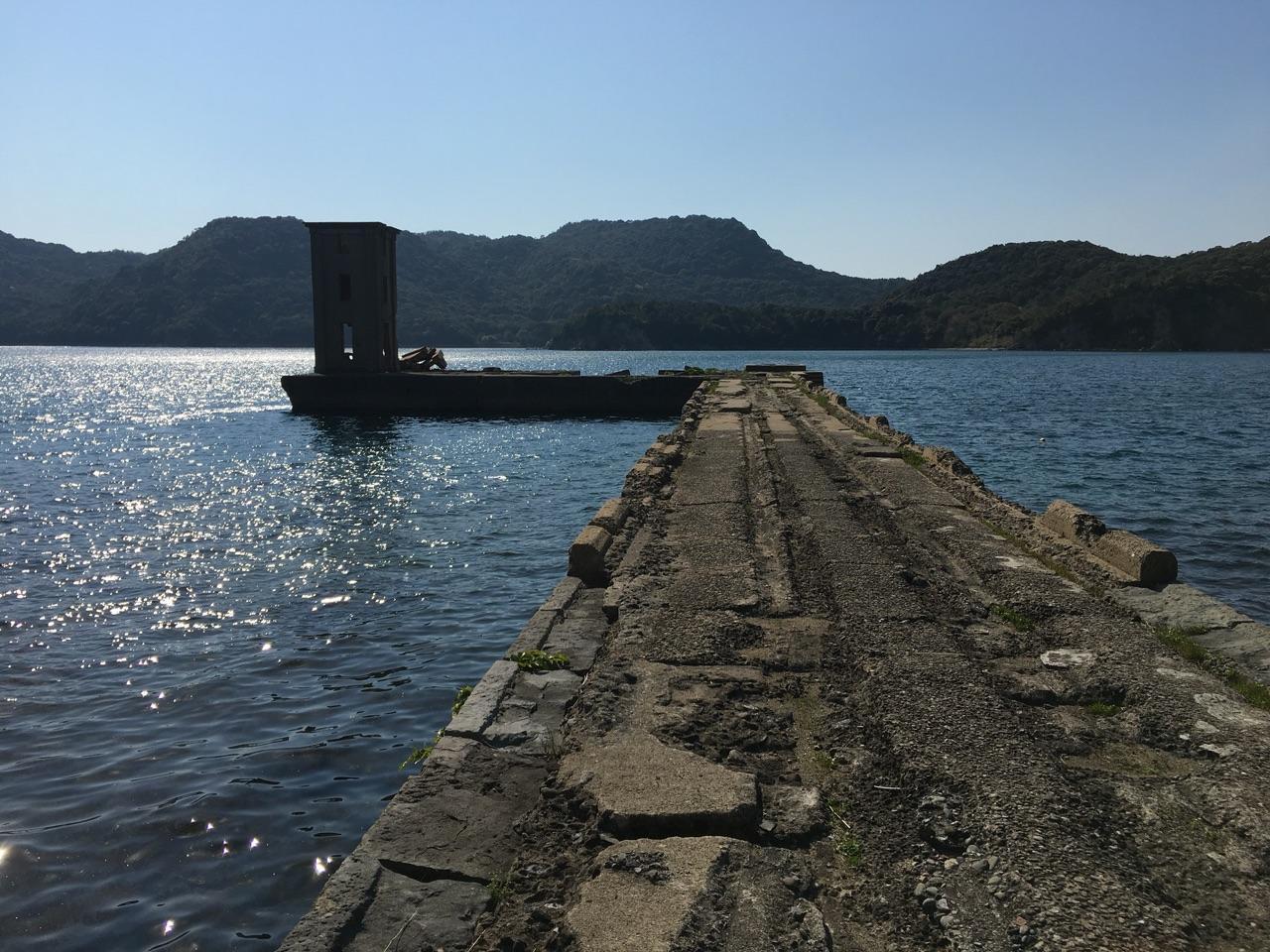 メインロケ地:片島(かたしま)魚雷発射試験場跡-1