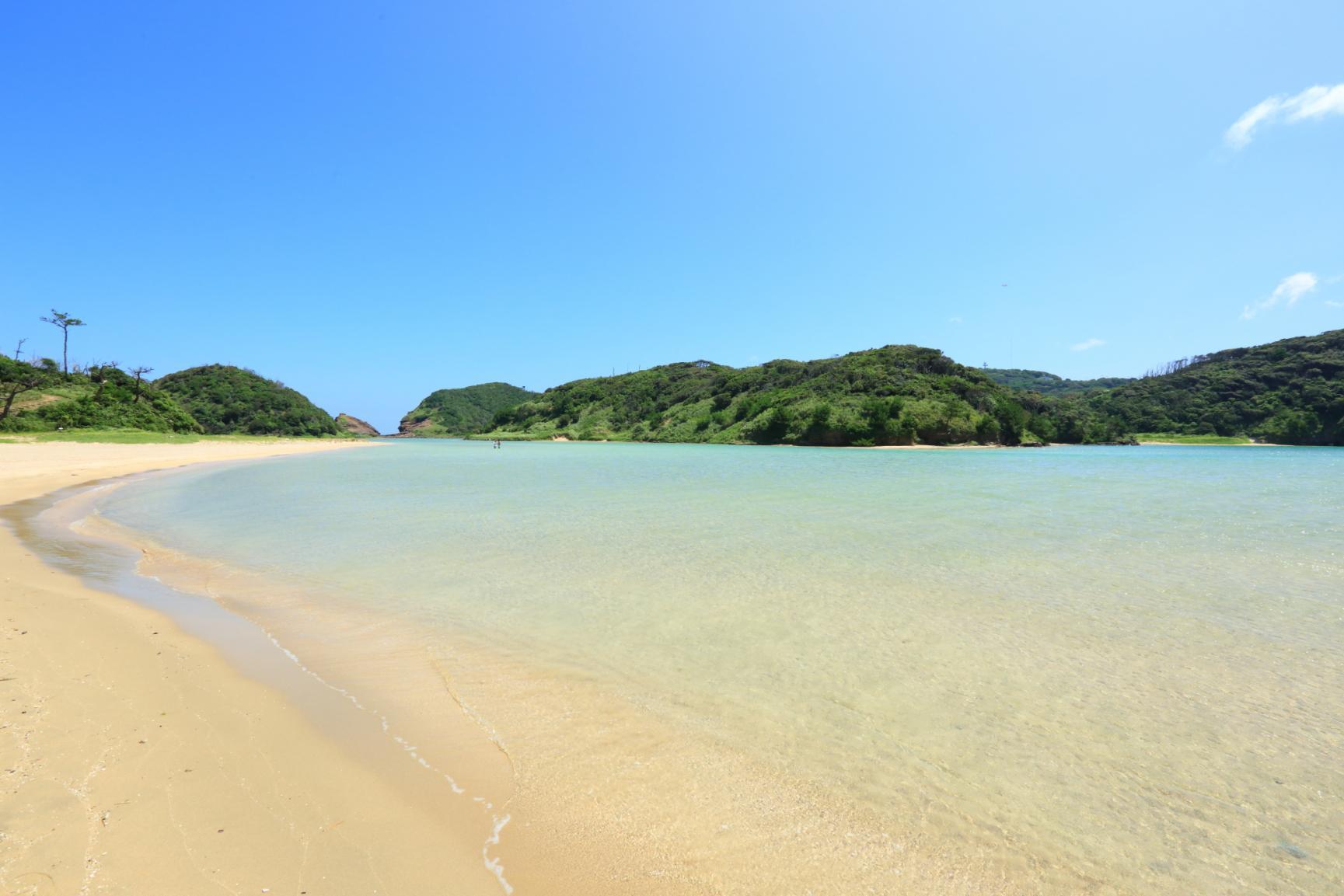 まるでプライベートビーチのように楽しめる壱岐・辰ノ島へ-0