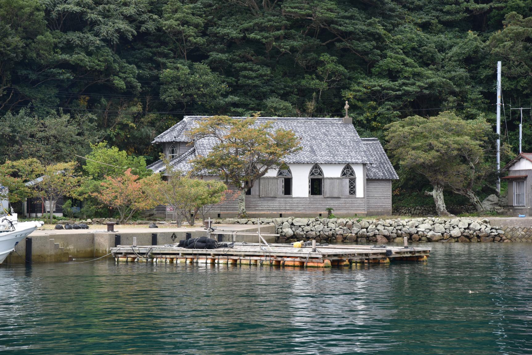 海からしか味わえない上五島の大自然と文化を、クルージングで堪能-1